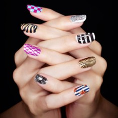 sephora chic prints for nails