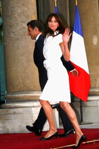 <> at Elysee Palace on July 14, 2009 in Paris, France.