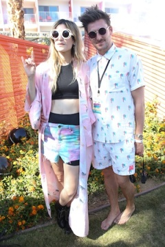 House Of Holland Eyewear Pool Party In Celebration Of The Coachella Valley Music & Arts Festival 2013