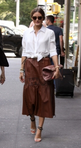 Olivia Palermo out and about in NYC