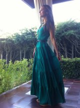 paula echevarria vestido largo