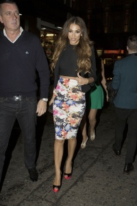 Georgia Salpa seen at the Lipsy party at Dstrkt in London