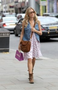 Sienna Miller de shopping en London 23 may