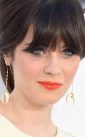 Zooey Deschanel. labios