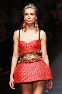 Dolce & Gabbana - Runway - Milan Fashion Week Womenswear S/S 2013