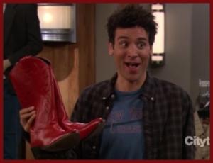 ted botas rojas