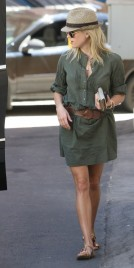 Reese Witherspoon Steamy Stylish In LA