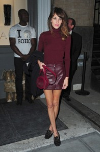 Celebrity Sightings In New York City - October 24, 2012
