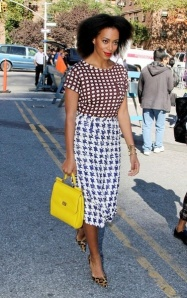 Solange-Knowles-Rocking-Blow-out-Natural-Hairstyle