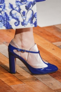 Valentino-Ready-To-Wear-Autumn-2013-blue-white-dress-and-coat-d-shoes