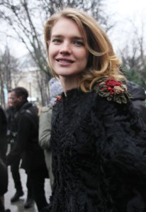 """Arrivals at """"Chanel Haute Couture Spring Summer 2013"""" fashion show during the Paris Fashion Week."""