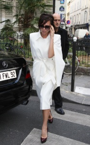 Victoria Beckham at shopping in Paris