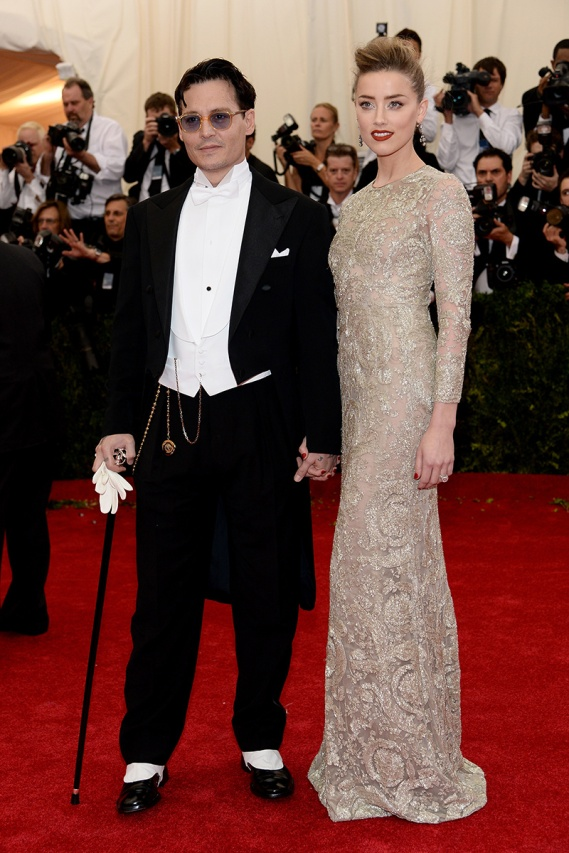 Depp y Amber Heard de G.Valli