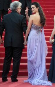 Spanish actress Penelope Cruz and Spanis