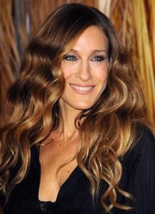 sarah jessica cortes de pelo peinados mechas californianas