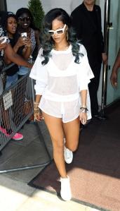 Rihanna Sighting In London - July 18, 2013