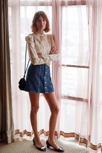 alexa-chung-denim-skirt