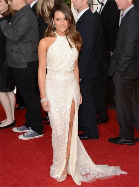 Lea Michele Golden Globes
